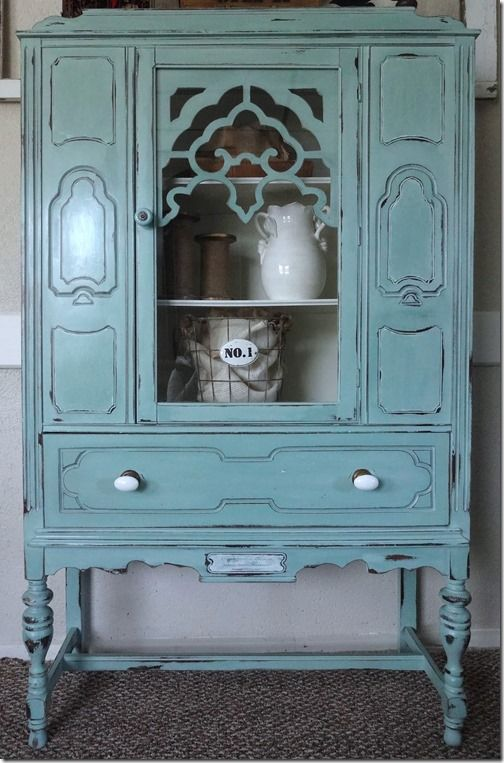 Annie sloan chalk paint annie sloan chalk paint blue for Duck hutch ideas