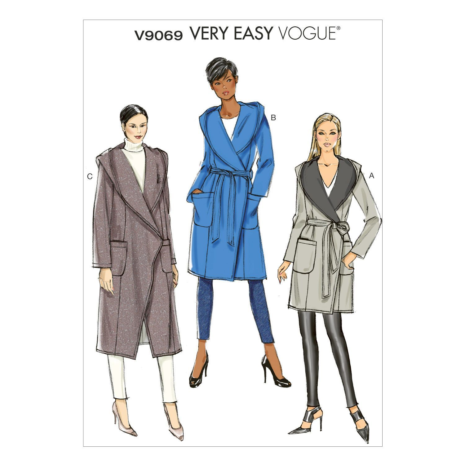 Mccall Pattern V9069 L-Xl-Xxl -Vogue Pattern | Women\'s jackets ...