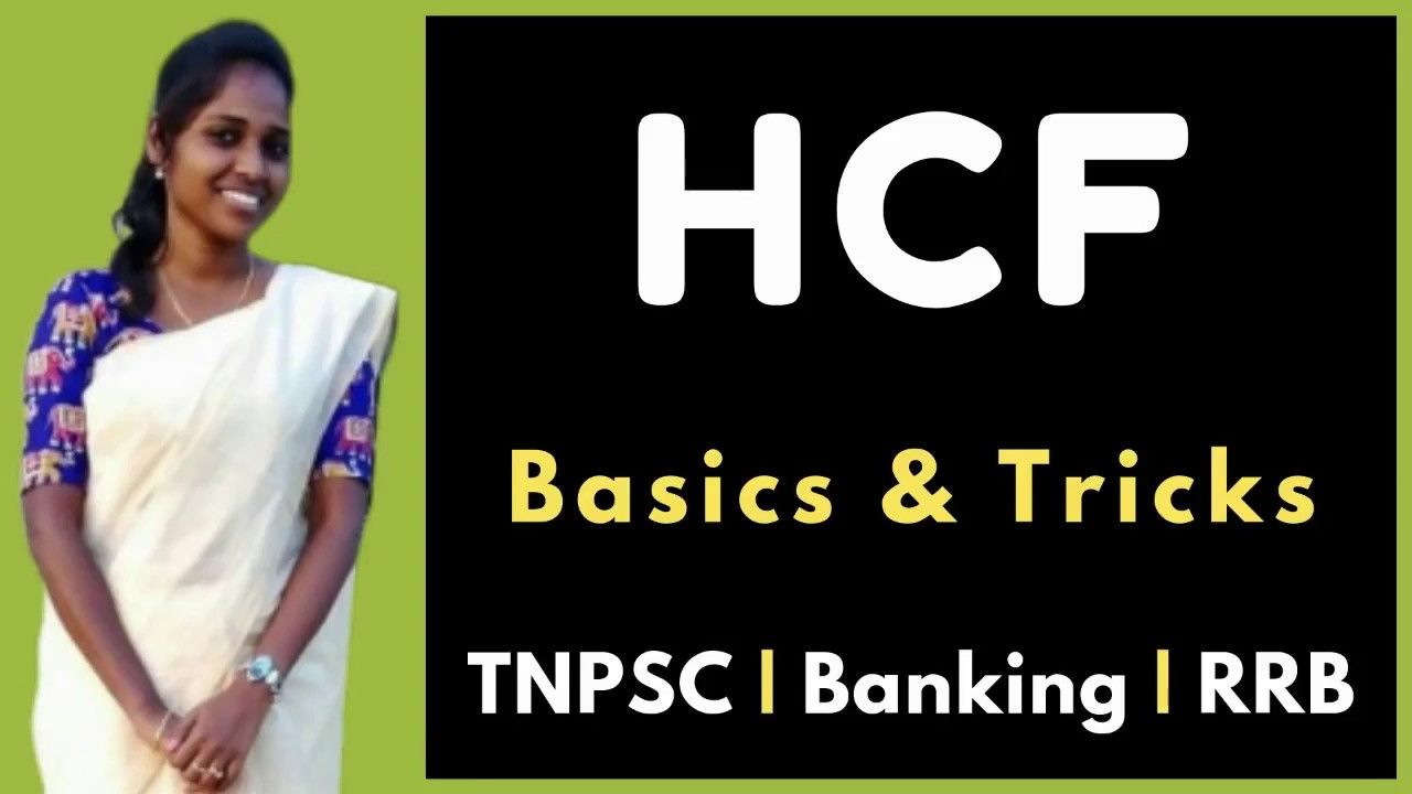 How to solve HCF problems in tamil  It is best and easy