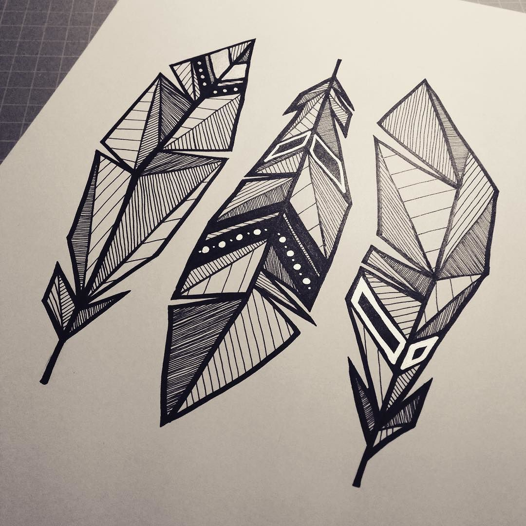 Drawing Using Lines And Shapes : Blxckink by scarecrowandocean … pinteres…