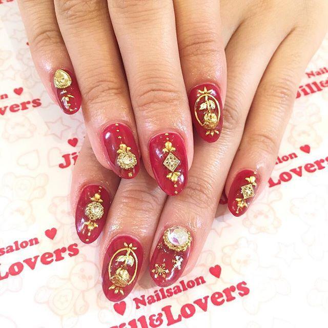 ✨🌹✨ @miomio_0409 @jillandlovers_h  #jillandlovers#ネイル#nail#nails#美甲#네일  #젤네일#ネイルアート#nailart#paragel#naildesigns