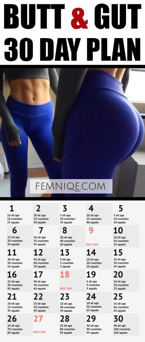 #butt #Challenge #Day #gut #Workout 30 Day Butt and Gut Workout Challenge (2017)…