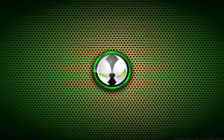 Wallpaper Spawn Logo By Kalangozilla Deviantart Com On Deviantart Silver Logo Superhero Wallpaper Batman Vs Joker Art