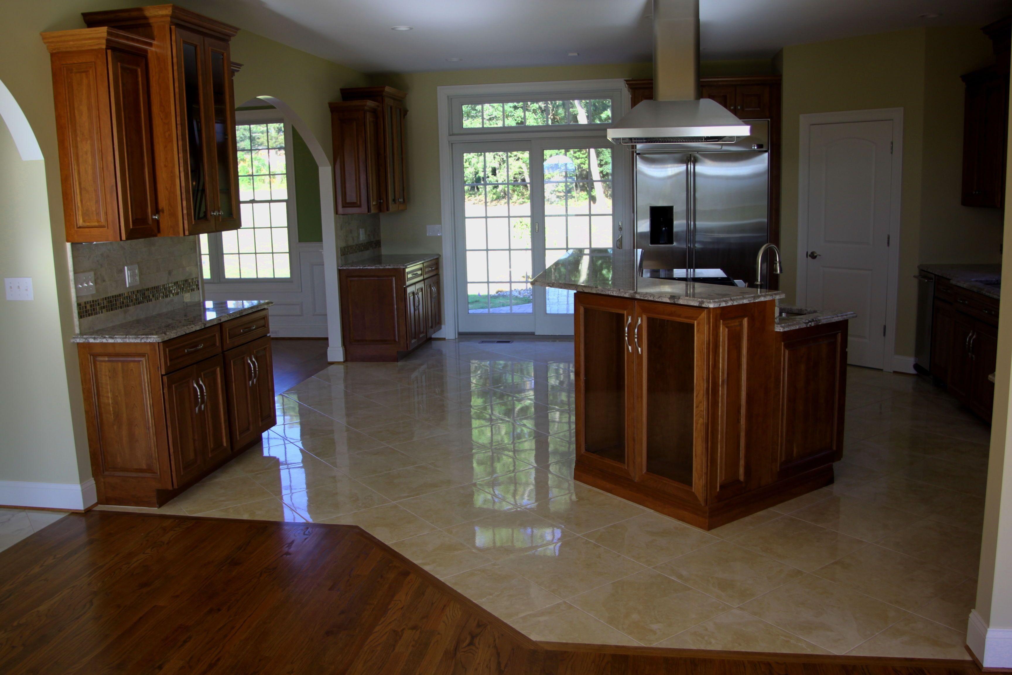 Porcelain Tile Ideas For Kitchen Floor  Httpviajesairmar Stunning Kitchen Floor Designs Decorating Inspiration