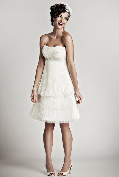 Knee-Length Getaway Wedding Gowns for Your Second Time Around: Part 2