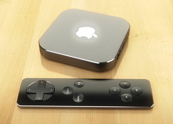 Realistic Concept Of Apple Tv 4g Remote Control Apple Tv Apple Controller Design