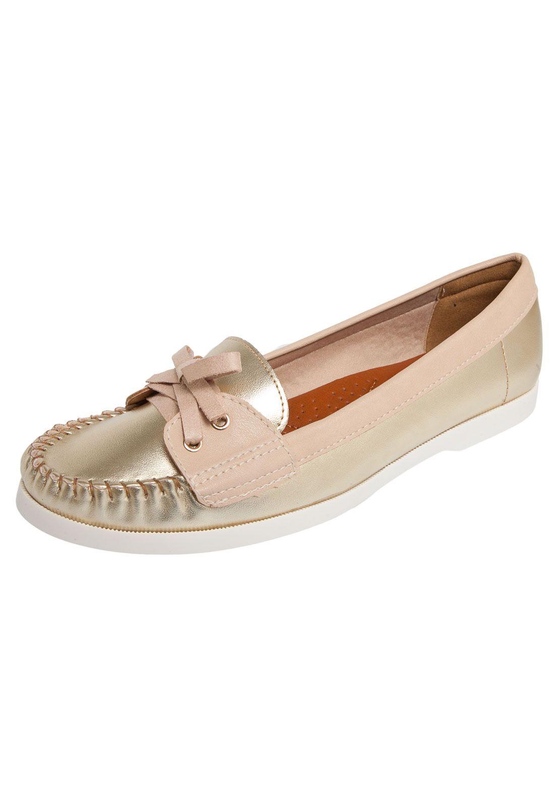 cd91581418 Mocassim Bebecê Sider Dourado - R 99 Sapatos Infantis