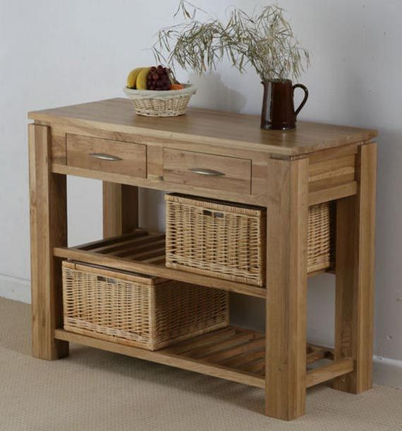Galway Natural Solid Oak Storage Console Table From The Galway Solid Oak  Range By Oak Furniture Land