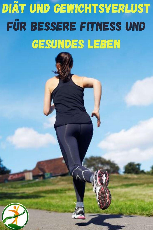 Diät und Gewichtsverlust für bessere Fitness und gesundes..