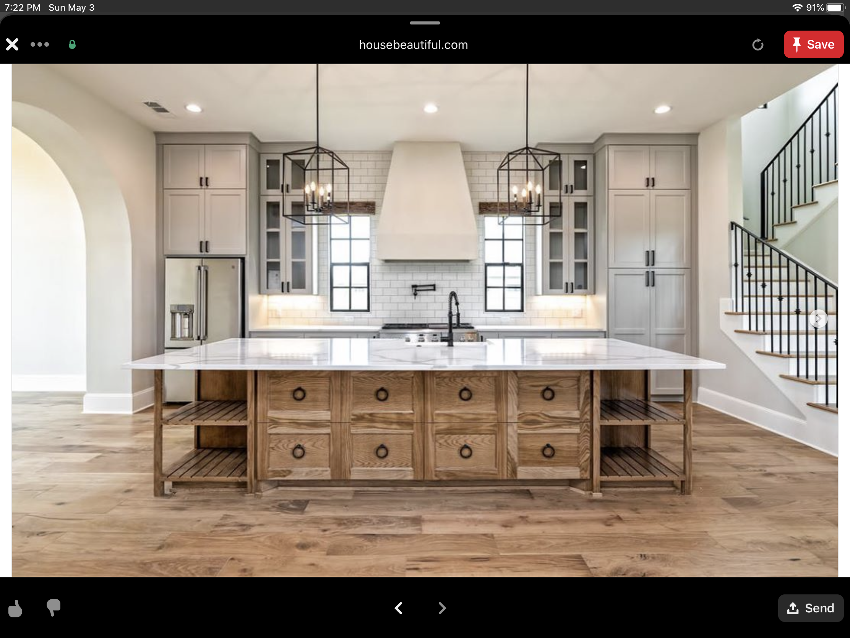 Pin by Harry Arruda on Kitchen in 2020 Farmhouse kitchen