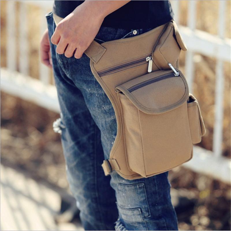 4a6d1f779b8 Comfortable Canvas Leg Bags