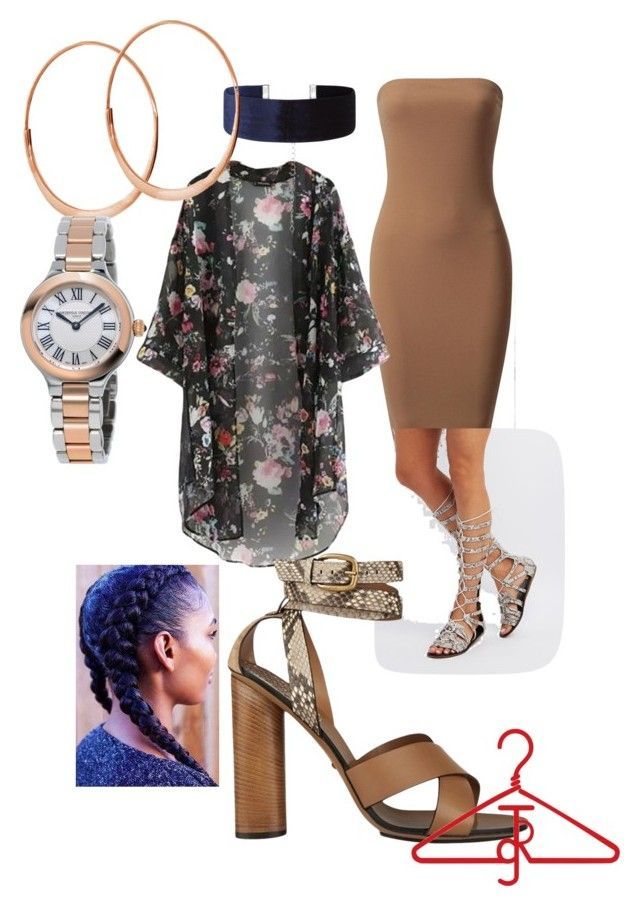 """Date Night"" by theredthreadgroup on Polyvore featuring Fahrenheit, New Look, Gucci, Lana and Frédérique Constant"