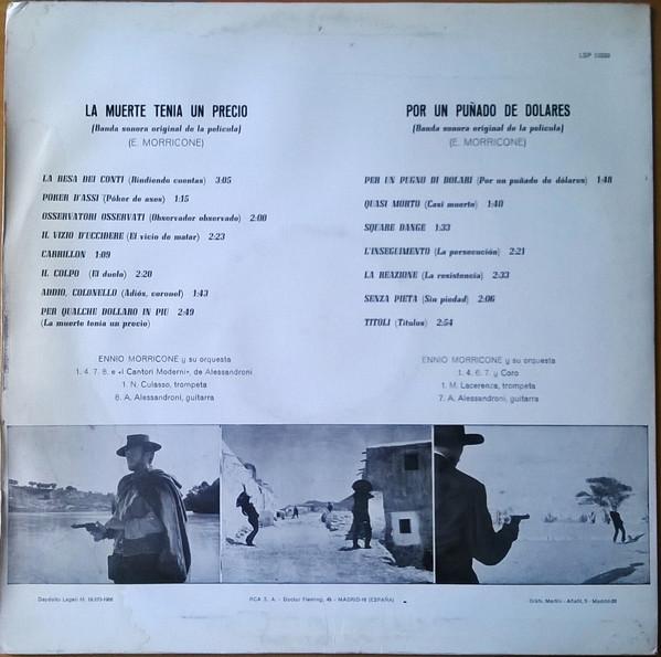 Ennio Morricone La Muerte Tenia Un Precio Banda Sonora Original De La Película 1966 Vinyl Discogs Banda The Originals Movie Posters