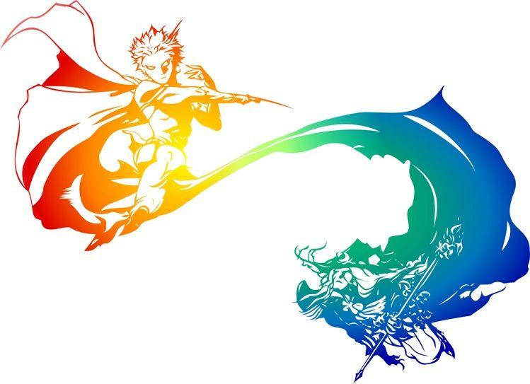 Artwork Official Logo By Yoshitaka Amano Ff Dimensions Final Fantasy Logo Final Fantasy Legend Final Fantasy Art