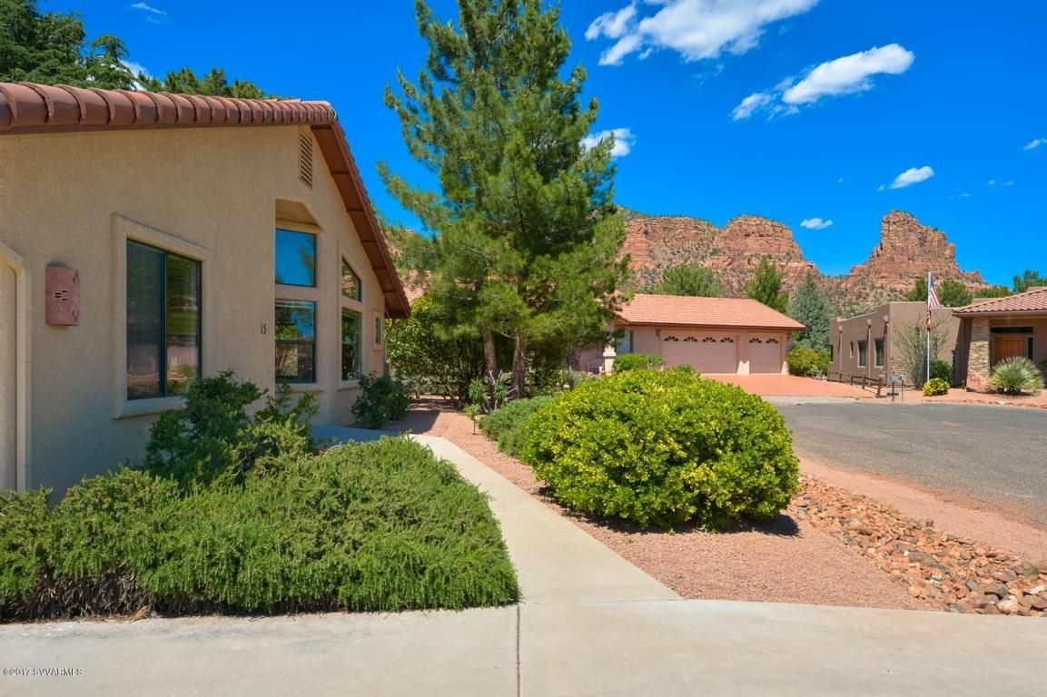 Sold 15 Glenbar Drive Sedona Az 86351 Mls 513208 Huge Remodel With Outstanding Red Rock And Golf Course Views Of Village Of Oak Creek Exterior Paint Views