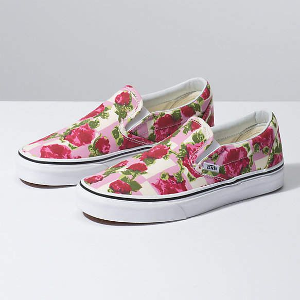 429a7ca355 Romantic Floral Slip-On in 2019