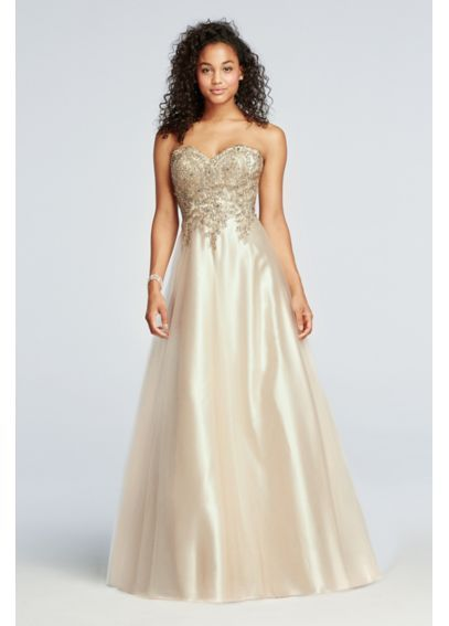 Large Prom Dresses with Tulle