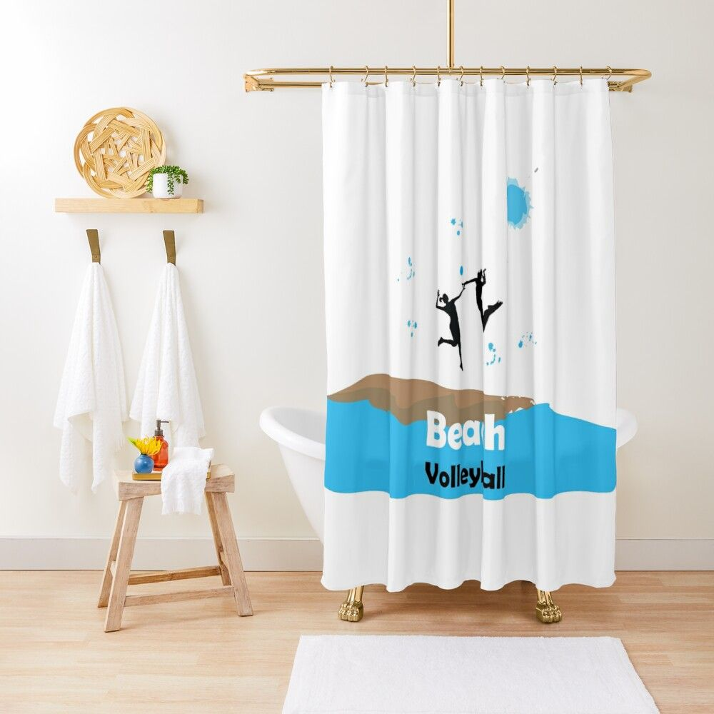 Play With Nature Shower Curtain By Vectorpb Long Shower