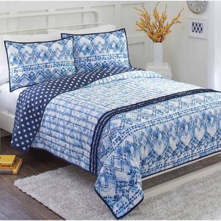 9544f157935eb3e469ed19777863a1d1 - Better Homes And Gardens Indigo Paisley Comforter Set