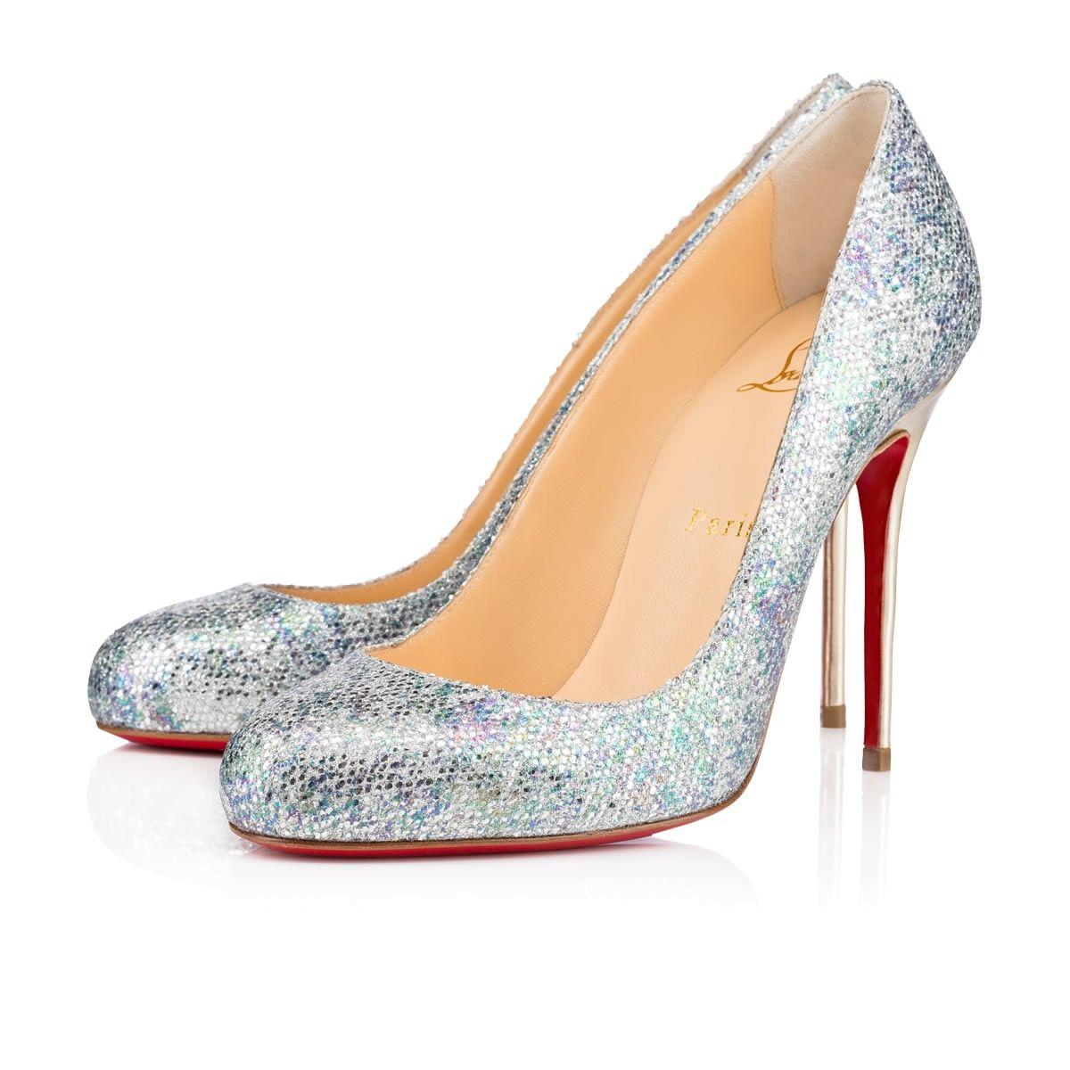 info for c151d ce41f CHRISTIAN LOUBOUTIN Fifi Glitter - Bridal - Shoes - Women ...