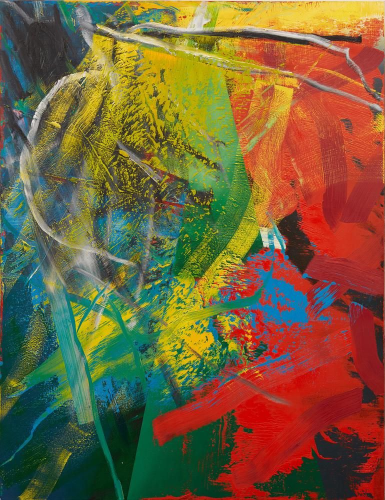 a wave of new works by gerhard richter abstract art painting bild frau abstrakt etsy abstrakte malerei