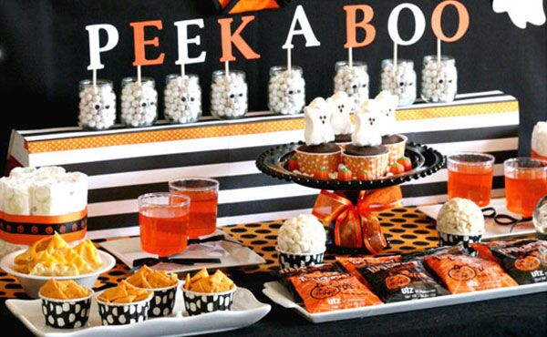 Looking For A Halloween Themed Baby Shower Check Out This Shower
