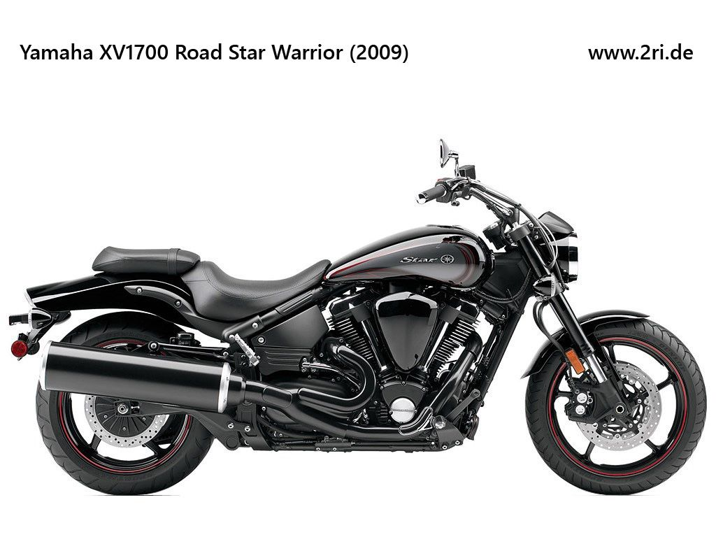 Yamaha XV1700 Road Star Warrior (2009)