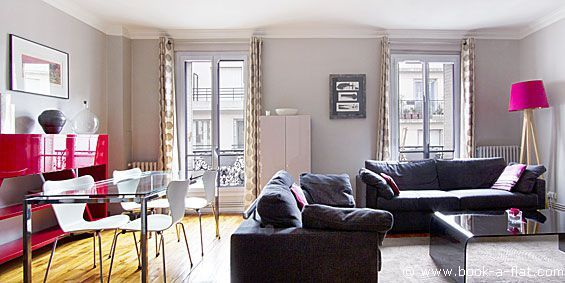 Location Appartement 2 Chambres Paris Rue Duhesme 18ème Arrondissement    Location Métro Lamarck Caulaincourt