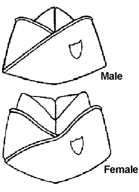 Garrison Cap Pattern : garrison, pattern, Dance2