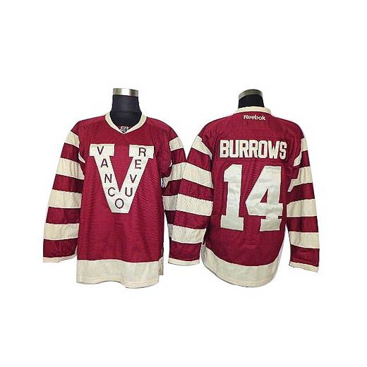 vancouver canucks 14 alex burrows red jersey