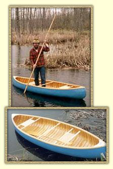 The short trapper, Whisper 10 footer | Wood and Canvas Canoe