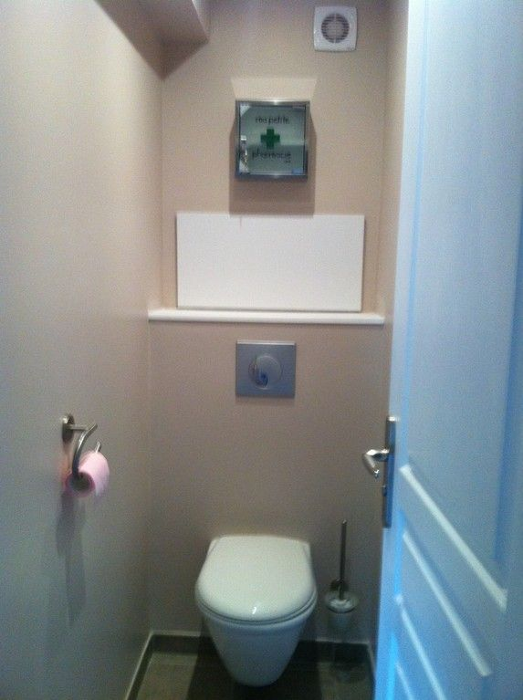 installation wc suspendu avec trappe de visite wc pinterest coins. Black Bedroom Furniture Sets. Home Design Ideas