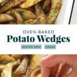 Best Oven Baked Potato Wedges - Fit Foodie Finds