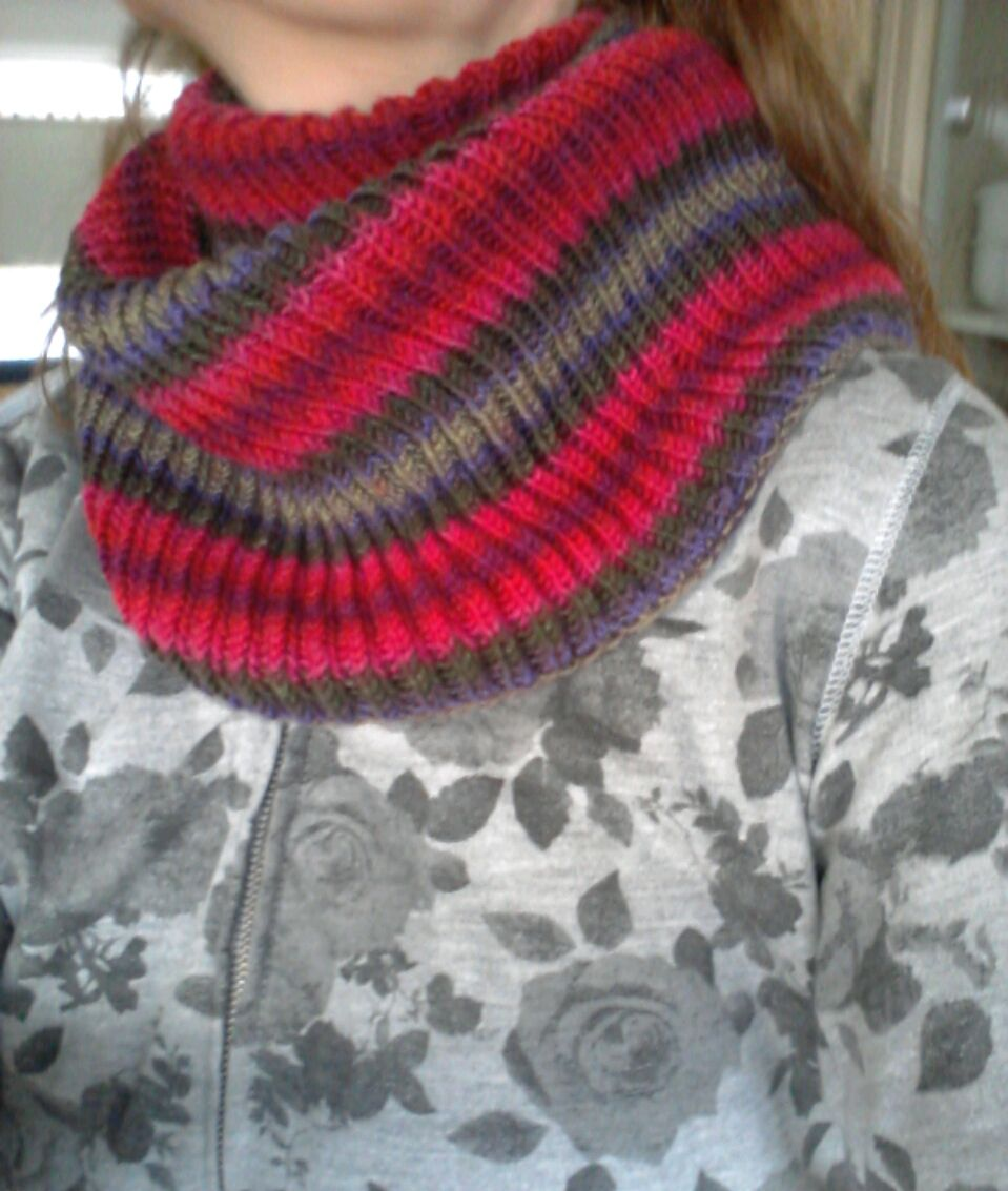 I finished my first loop and I love it! Yarn: Unisono, Atelier ...