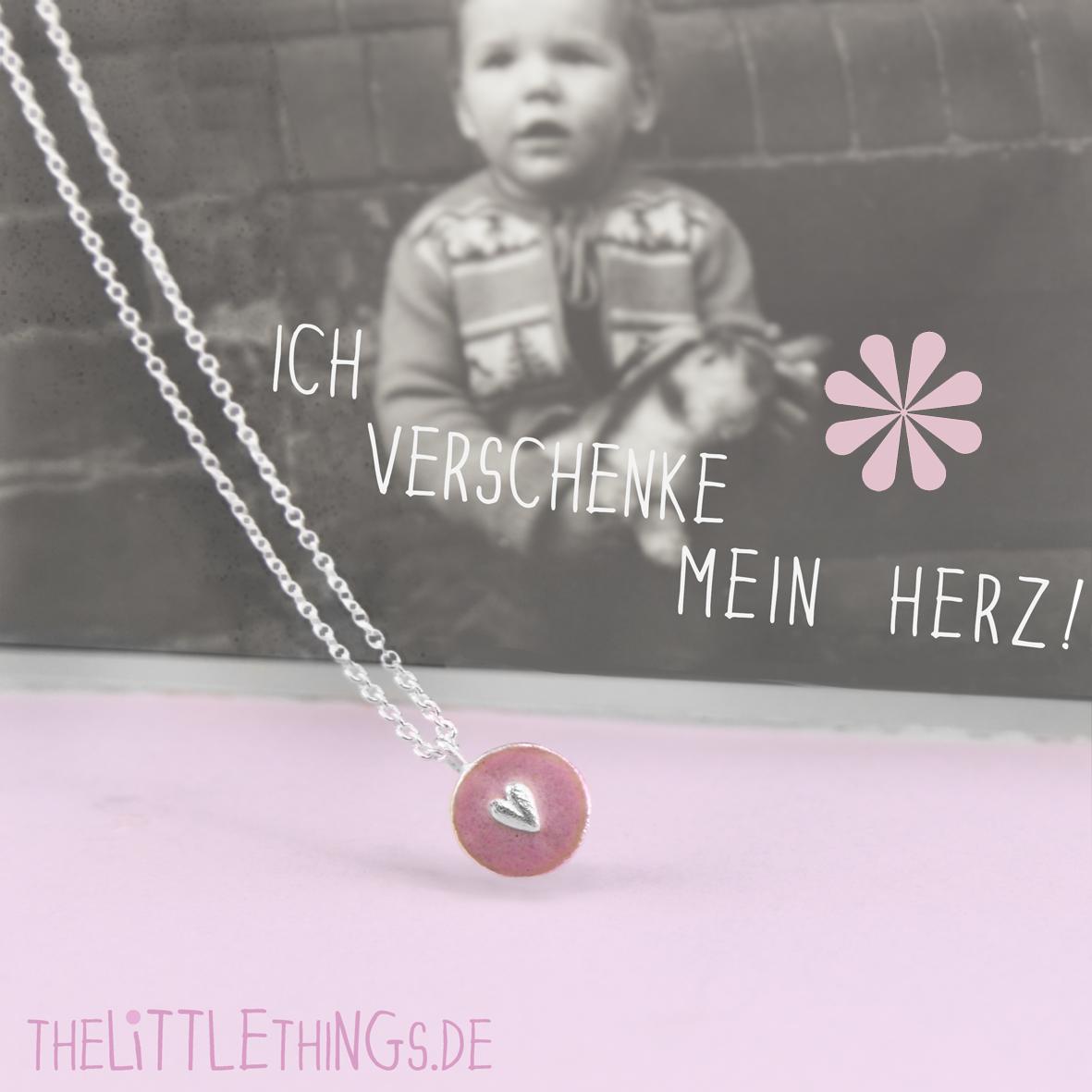 Schmuck  ♥  Verschenke Dein Herz. www.thelittlethings.de