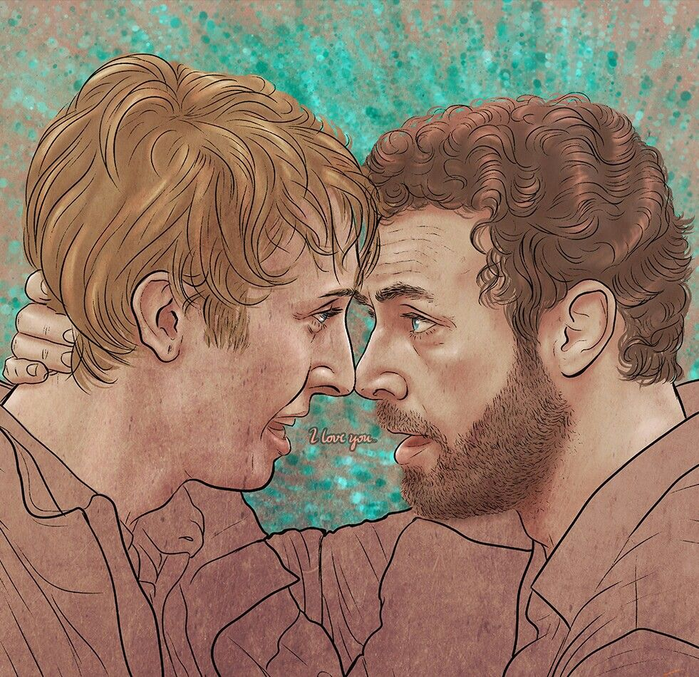 Eric And Aaron R I P Eric Dead Man Walking The Walking Dead