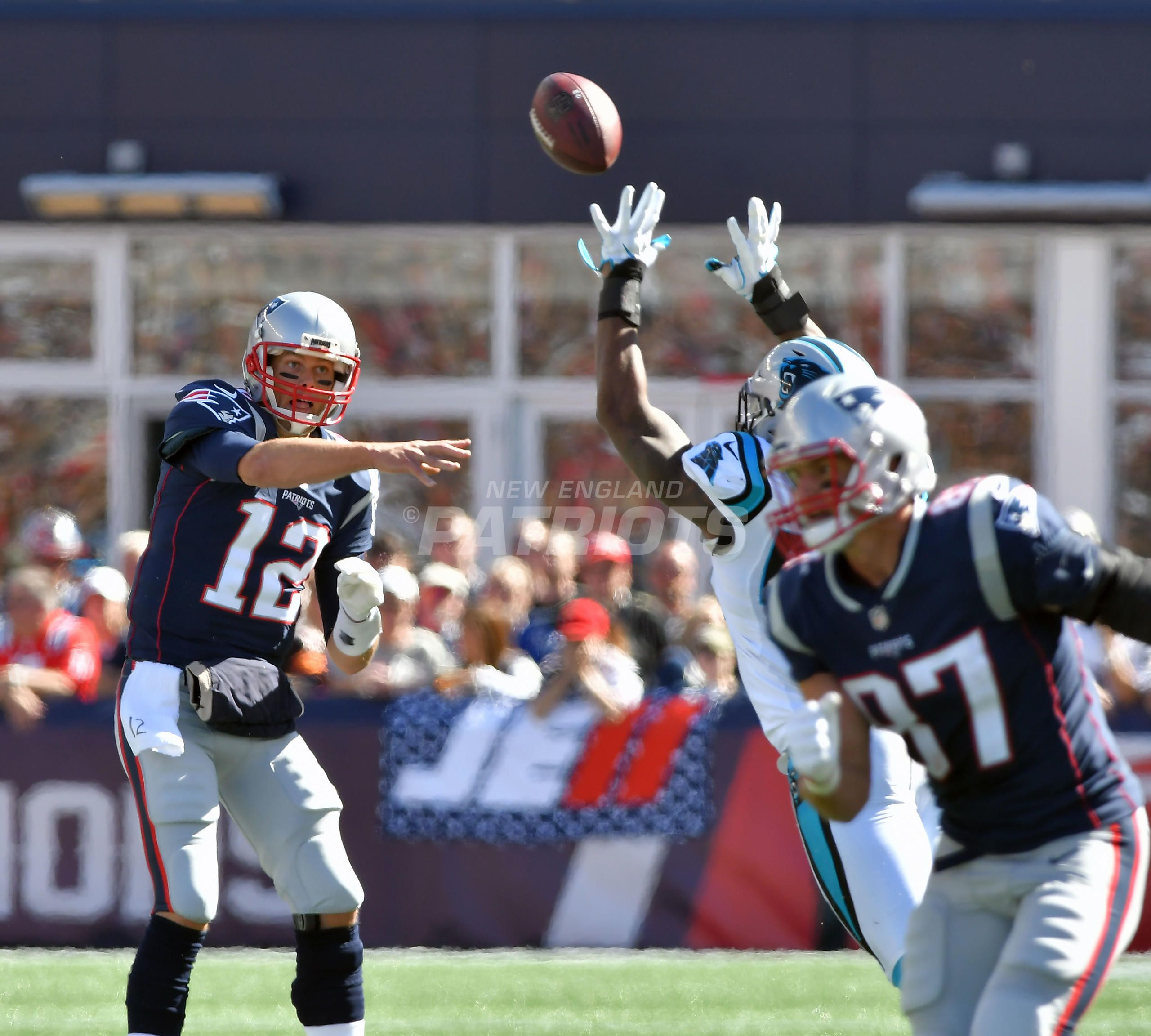 Panthers Vs Patriots Week 4 Patriots Panthers Panthers Win