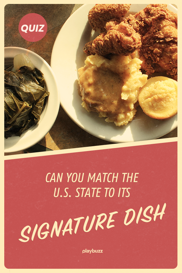 Can You Match The Us State To Its Signature Dish General