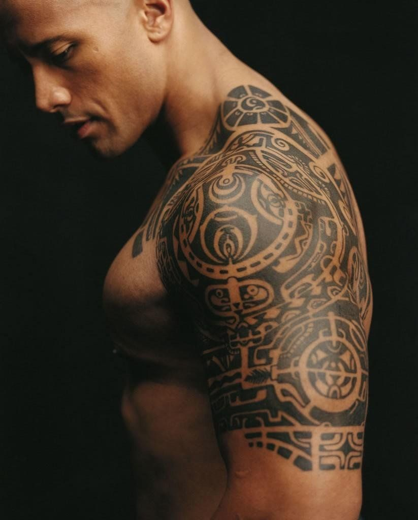 Johnson Duane: tattoos and their meaning (with photo) 15