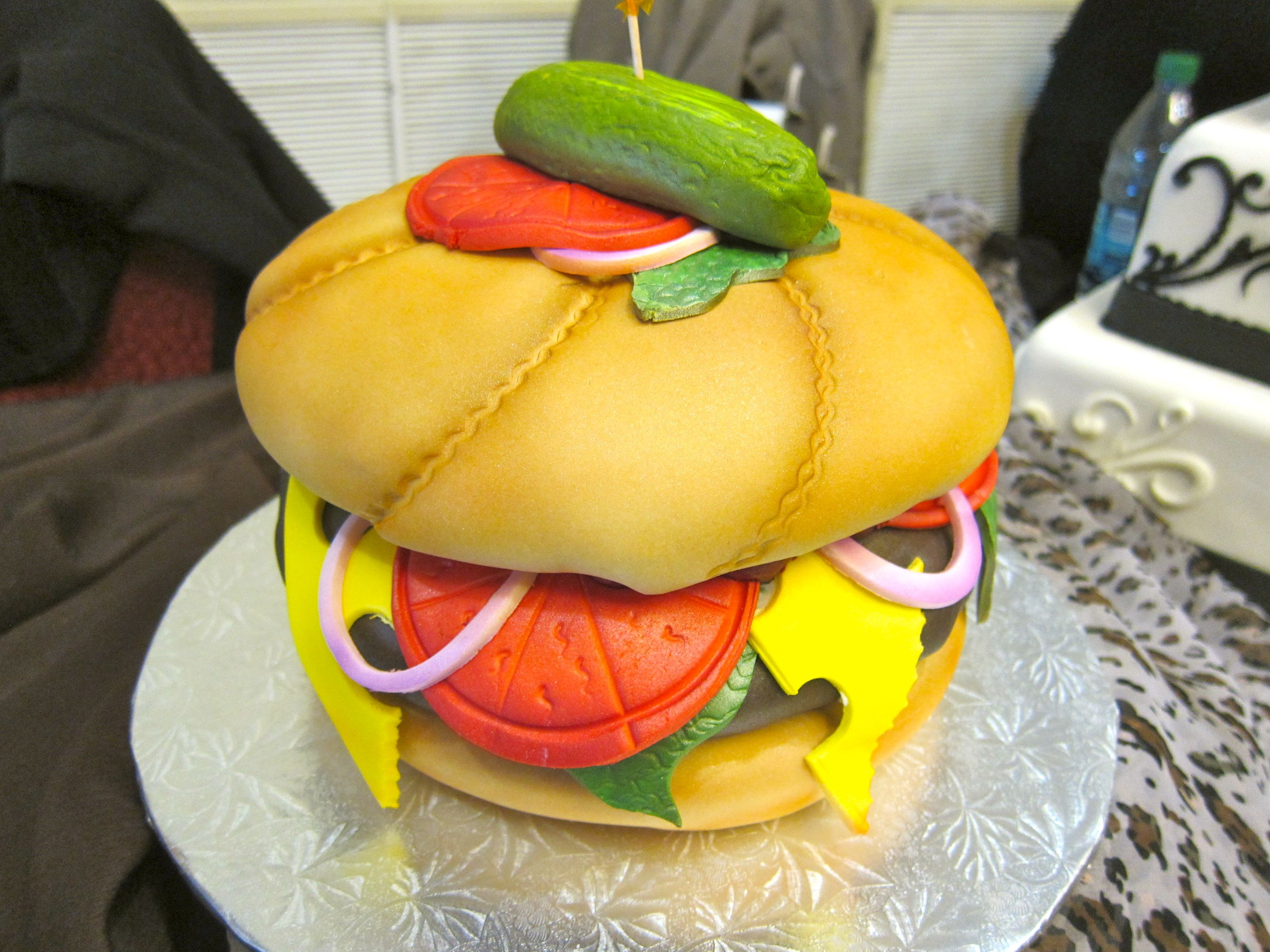 Is it a hamburger? How about a \