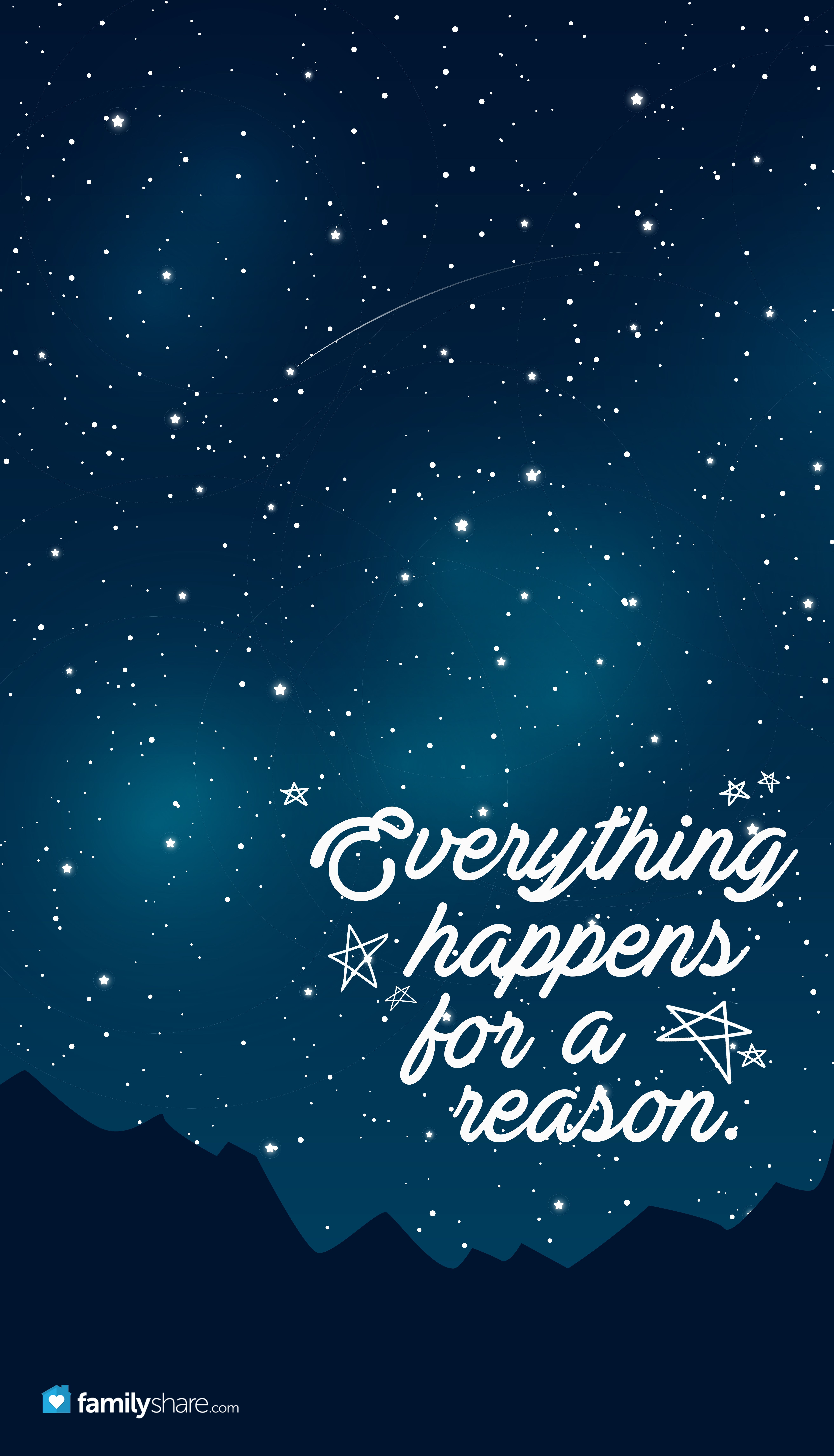 Everything Happens For A Reason Iphone Wallpaper Phone Background Wallpaper Phone Familyshare Wallpaper Quotes Cute Quotes Inspirational Quotes
