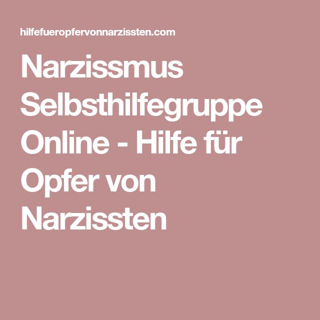 Narzissmus Selbsthilfegruppe Online - Hilfe für Opfer von