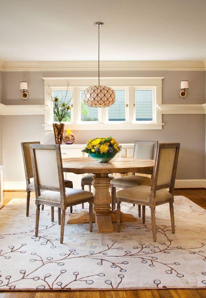 Fresh Outlook   Alameda Ridge   Craftsman   Dining Room   Portland    Garrison Hullinger Interior Design Inc.