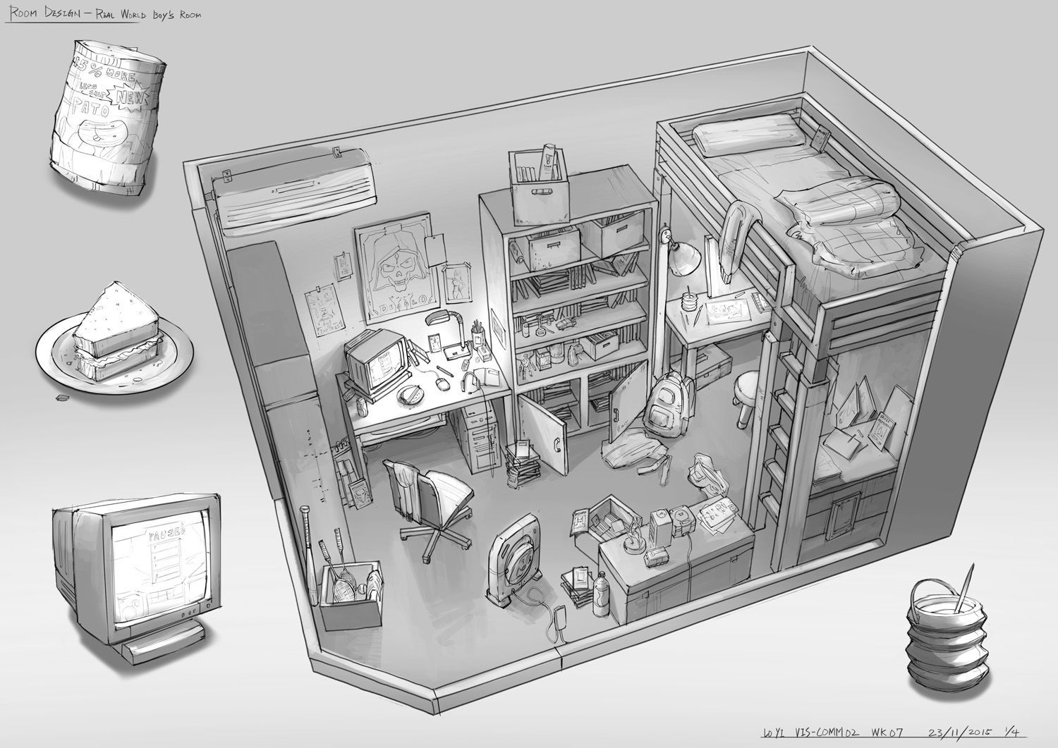 find this pin and more on environments ref in_the_bedroom feng zhu design adventure game room - Bedroom Designer Game
