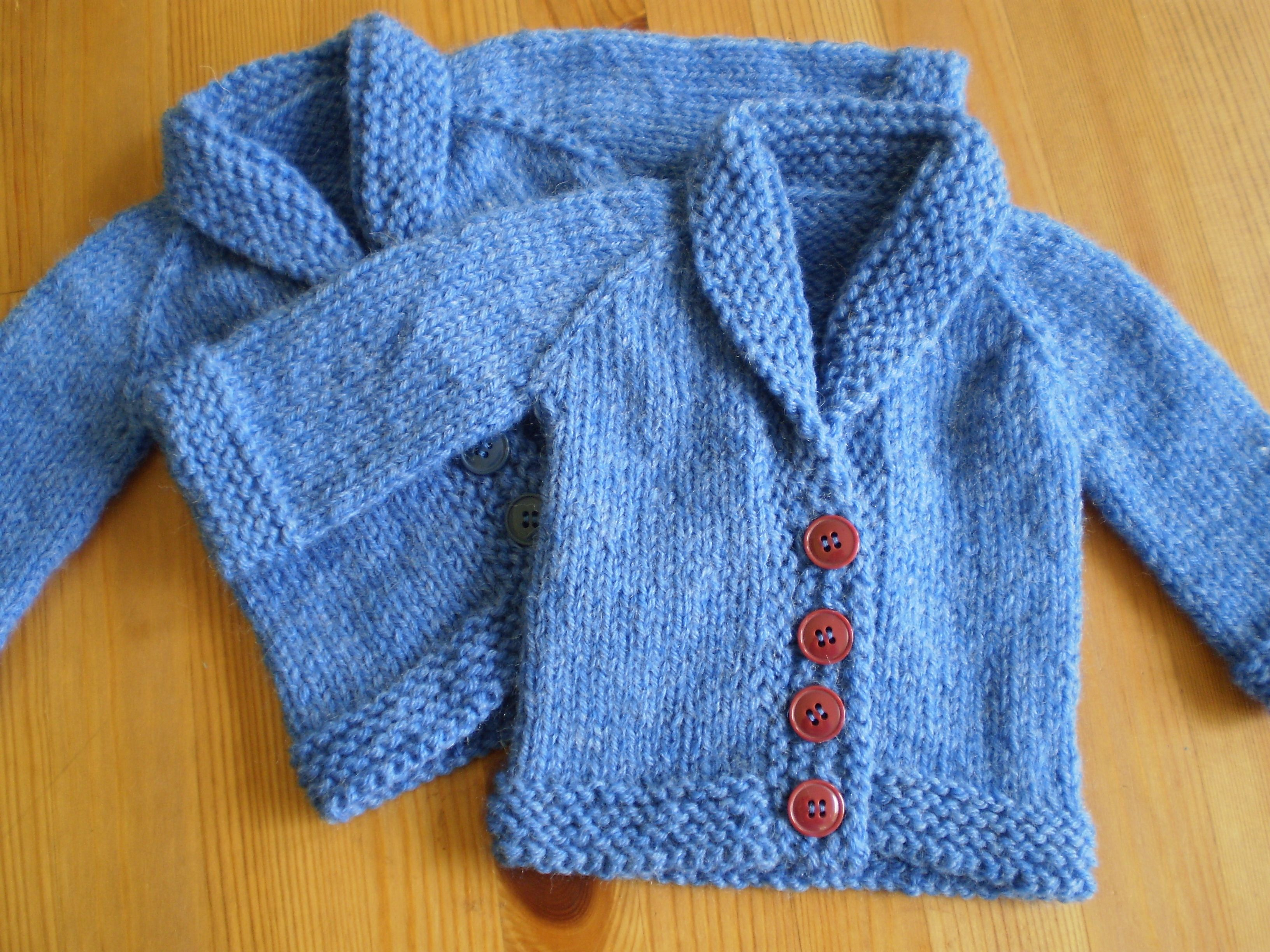 Pattern Spotlight On The Needles Baby Cardigan