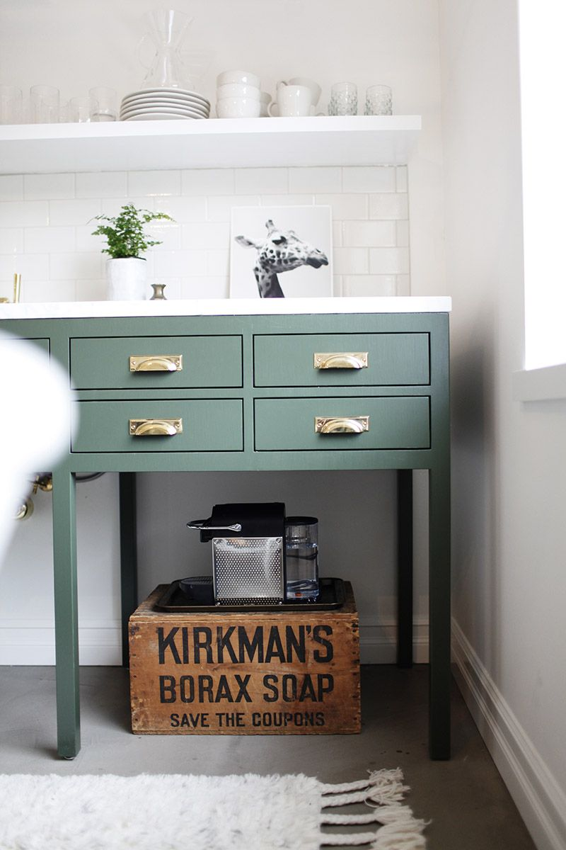 Bevel Edge Bin Pull | Kitchen office, Green kitchen and Polished nickel