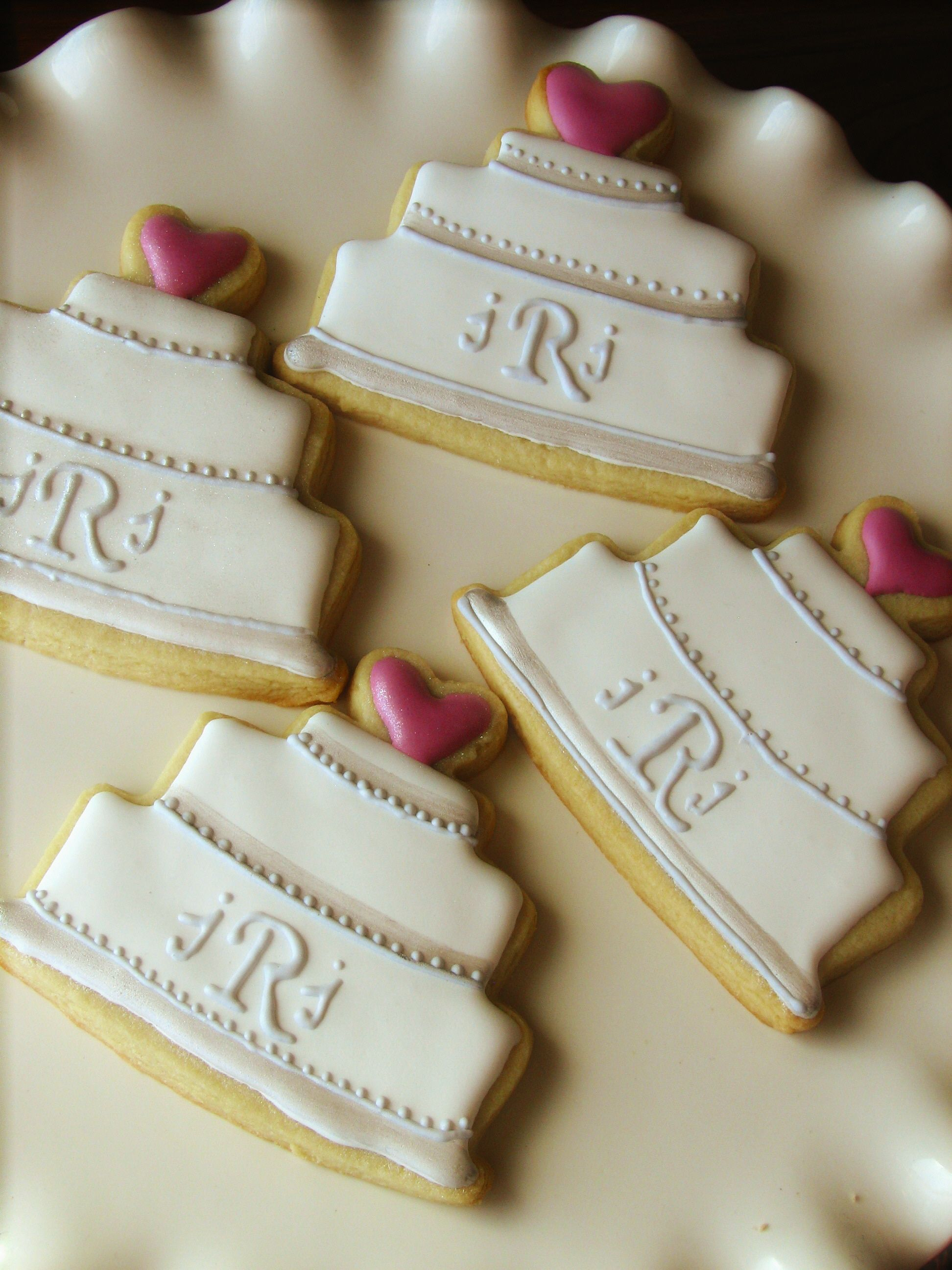 Bridal shower wedding cookie with images wedding