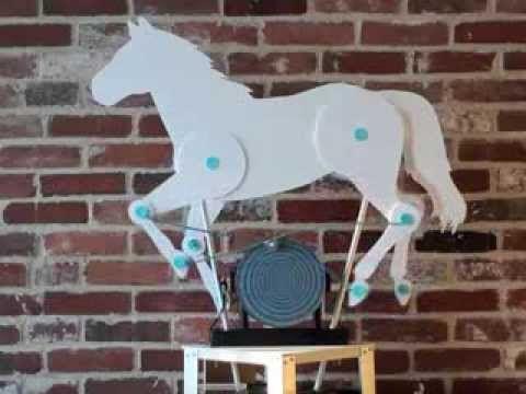 Horse automata - YouTube