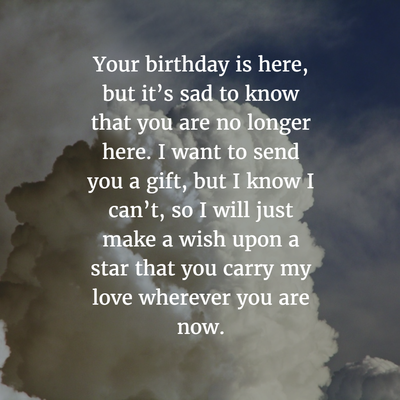 30 Sweet Birthday Quotes For Dead Husband Birthday