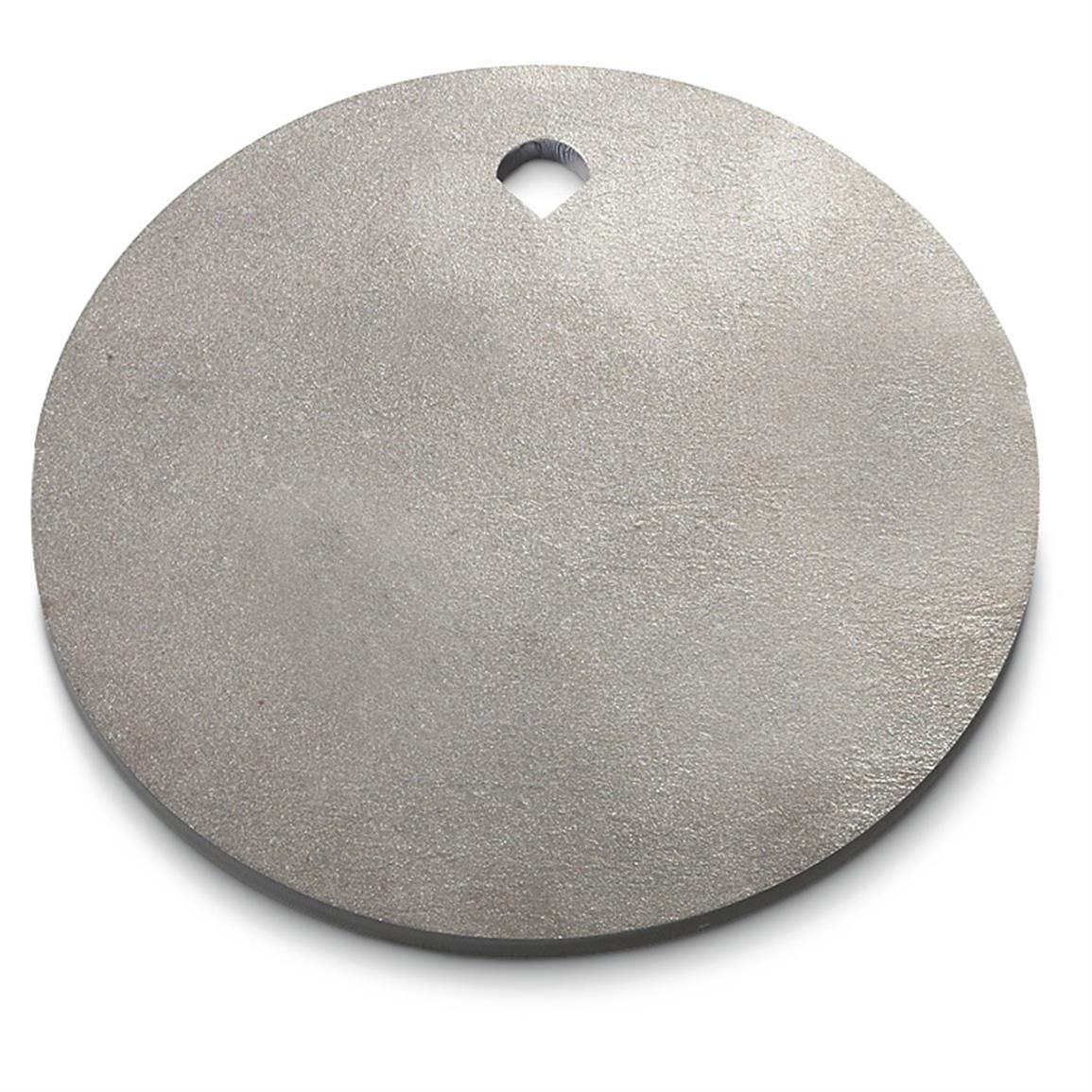 Ar500 Hardened Steel Plate Round Shooting Target 12 Diam 3 8 644561 Shooting Targets At Sportsman S Guide Shooting Targets Steel Plate Hardened Steel